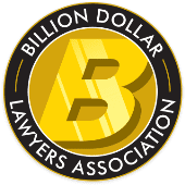 Billion Dollar Lawyers Association Logo